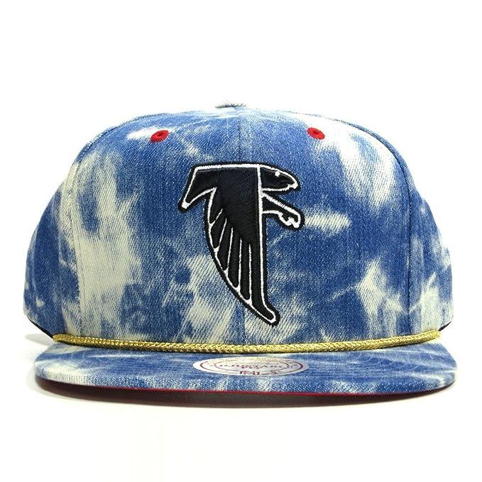 cheaper 5a1df 06a30 Mitchell & Ness Acid Wash Denim NFL Atlanta Falcons Snapback Hat