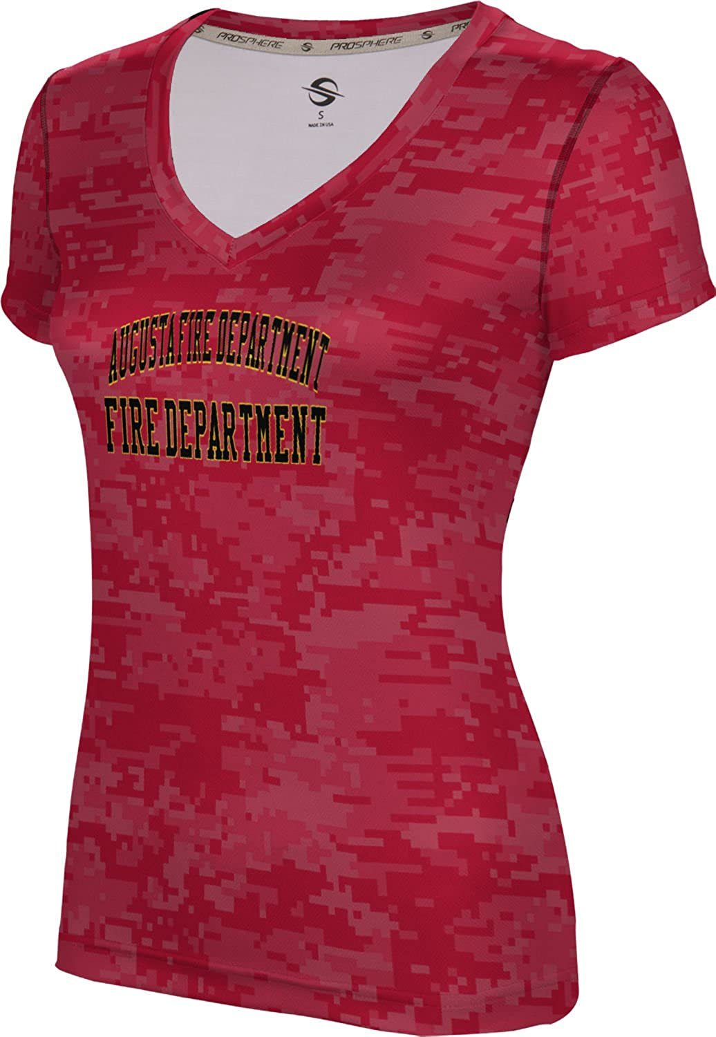 ProSphere Women's Augusta Fire Department Digital SL V-Neck Training Tee