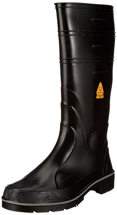 Nora Winner 72232 - Botas de agua unisex, color negro, talla 39