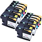 Sophia Global Compatible Ink Cartridge Replacement for LC109XXL and LC105XL (4 Black, 2 Cyan, 2 Magenta, 2 Yellow)
