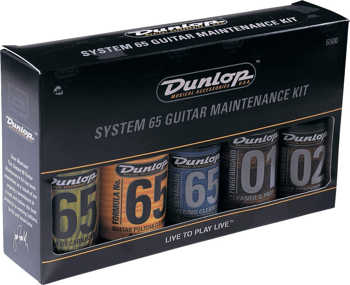 B0002E1H9W Dunlop 6500 System 65 Guitar Maintenance Kit 71tpKgBzvpL