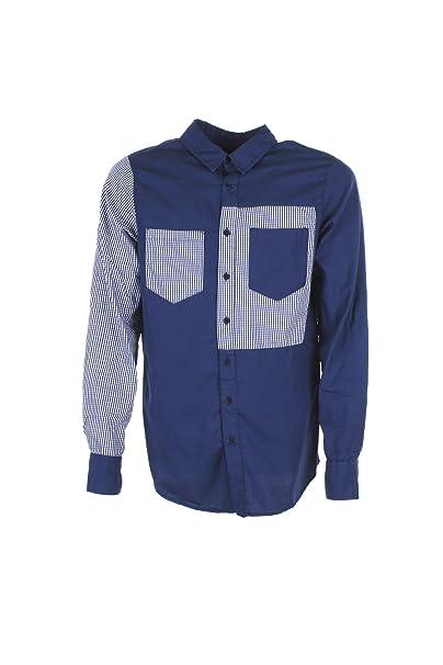data di rilascio: b3533 9d76d Imperial Camicia Uomo Blu Cyh2voml Primavera Estate 2018 ...