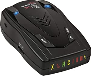 Whistler XTR-145 Laser Radar Detector: 360 Degree Protection, Icon Display, and