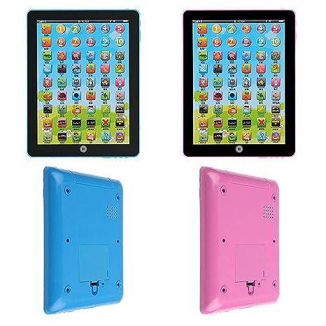 Pre-school Youppin aprendan las Pantalla táctil Tablet Pad, Educational juguete Mini ordenador para