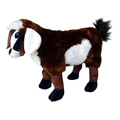 "Adore 15"" Standing Feta The Goat Stuffed Animal Plush Toy: Toys & Games"