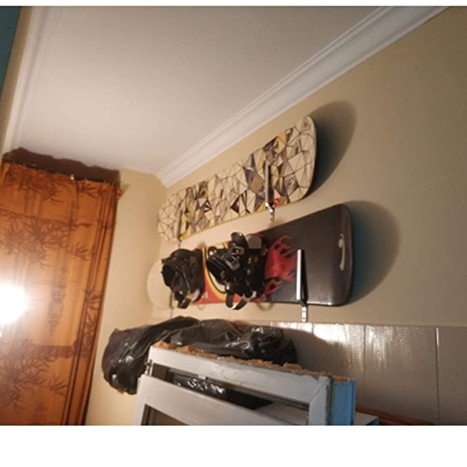 Amazon.com: YYST Soporte de pared para snowboard – Hardware ...