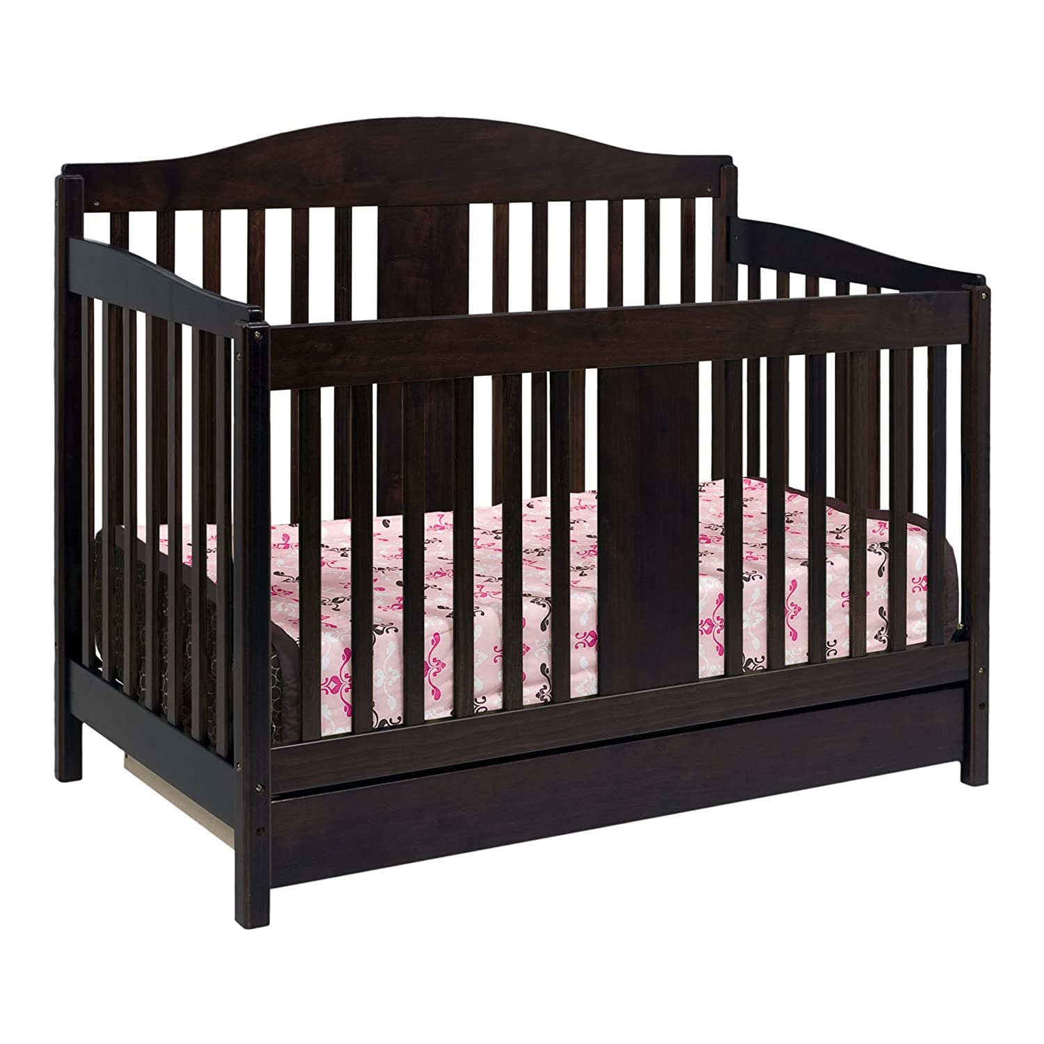 Toddler bed rails for convertible cribs - Amazon Com Davinci Richmond 4 In 1 Convertible Crib With Toddler Bed Conversion Kit Espresso Davinci Crib Sets Baby