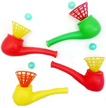 Childhood Kid Birthday Game 6PCS Funny Blowing Kids Toy Fillers Pipe Toy Party