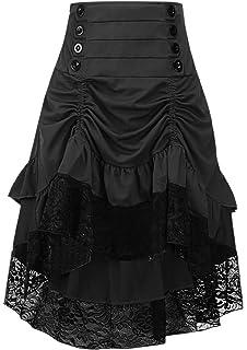 7ada3f3799a Taiduosheng Women s Steampunk Gothic Clothing Vintage Cotton Black ...