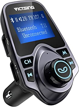 VicTsing Bluetooth FM Transmitter With Hand-Free Calling
