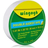Wingogh Double Sided Tape - Multi-Purpose Double Sided Duct Tape Perfect for Carpet Rug