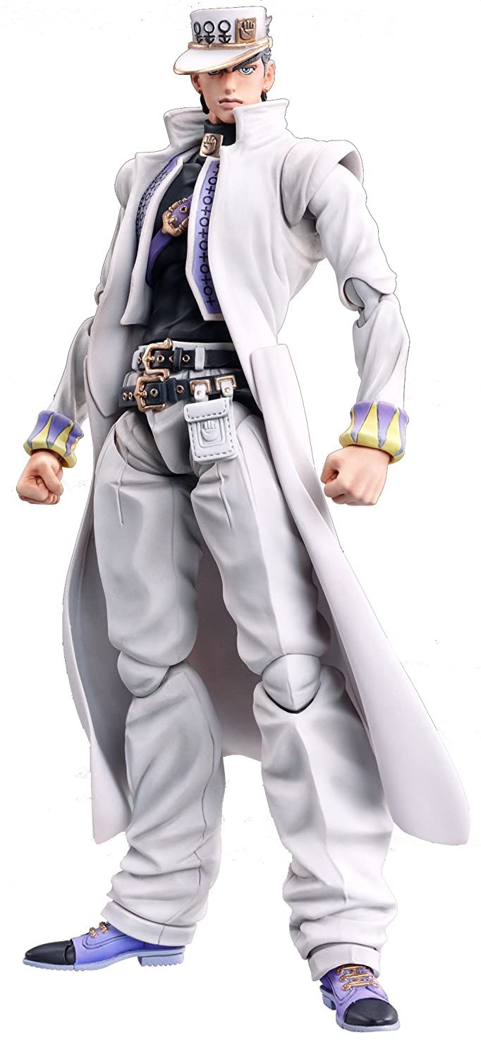 Medicos JoJo's Bizarre Adventure: Part 4--Diamond is Unbreakable: Jotaro Kujo Super Action Statue (Released)