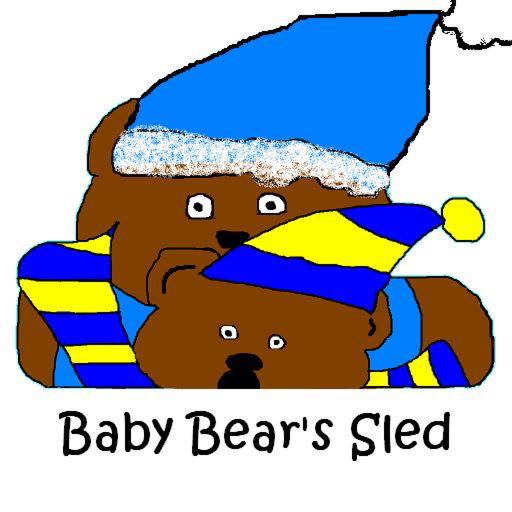 Sledding Bears (Baby Bear's Sled)