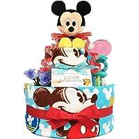 庆祝很受欢迎迪士尼米奇的蛋糕纸尿裤 / 宝宝的家庭 · 生日礼物礼品套装 ダイパーケーキ / 男孩
