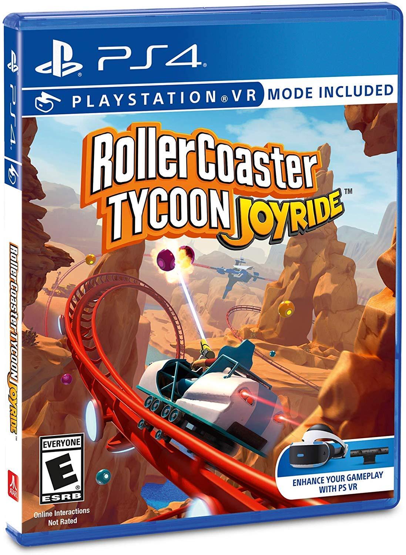 Rollercoaster Tycoon: Joyride - PlayStation 4 Standard Edition