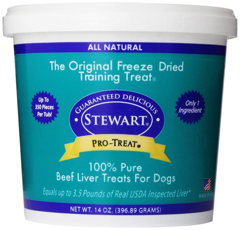 Stewart Freeze Dried Treats 14 oz Beef Liver