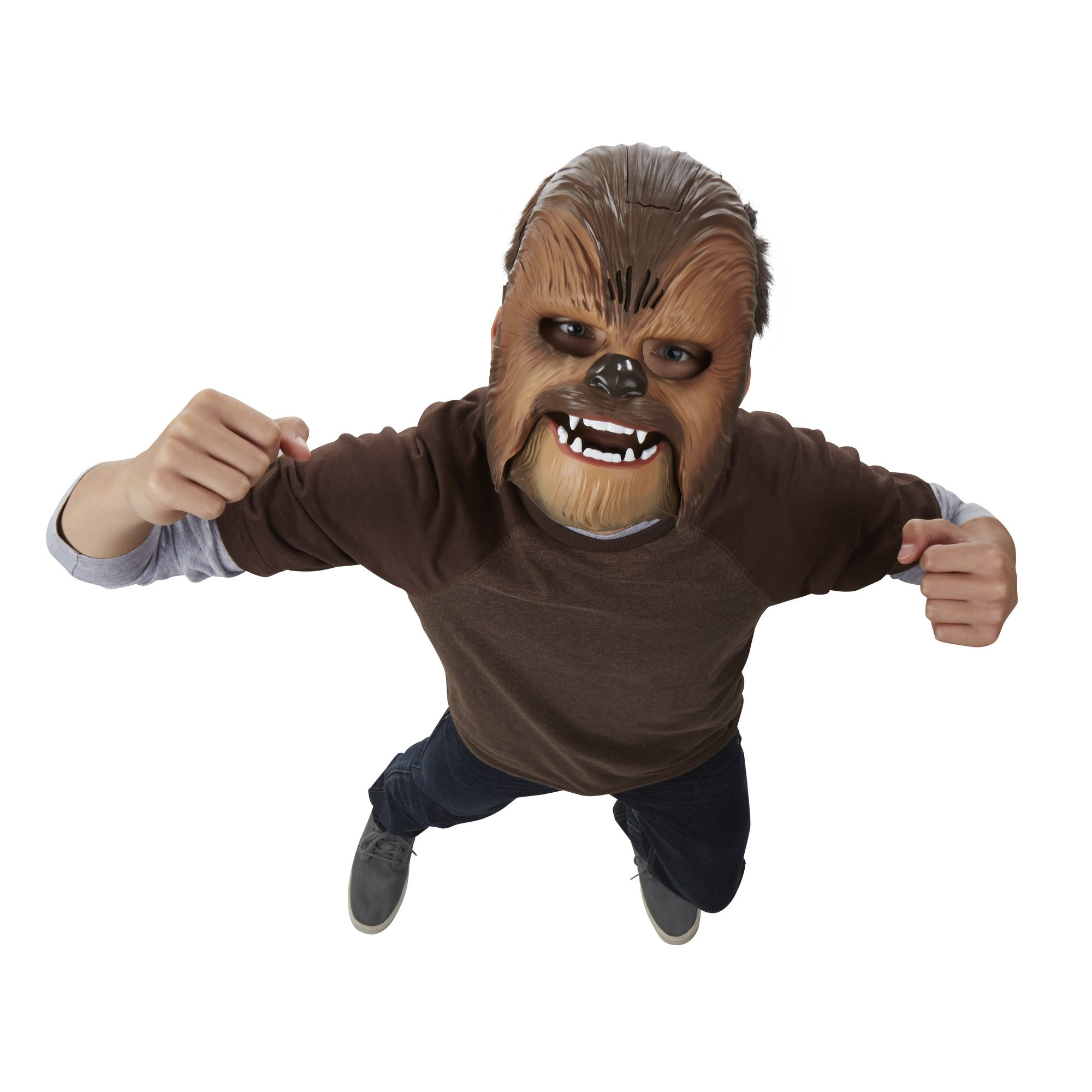 Star Wars Movie Roaring Chewbacca Wookiee Sounds Mask, Ages 5 and up (Amazon Exclusive) by Star Wars (Image #7)