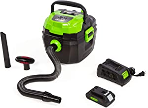 24V Cordless Wet/Dry Shop Vacuum, 2.0 Ah Battery Included BVU24211