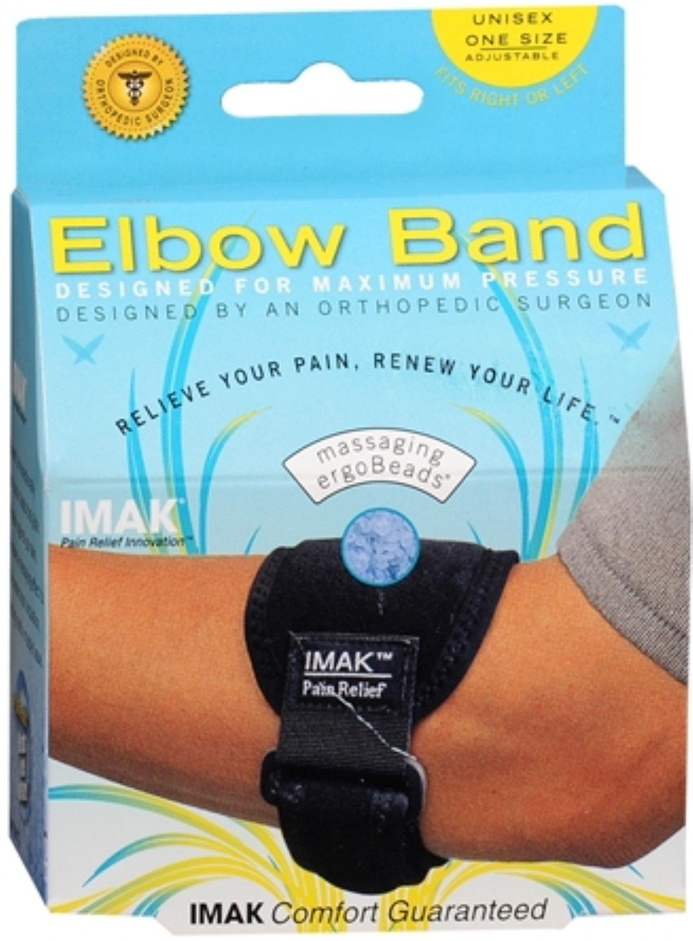 IMAK Elbow Band One Size 1 Each (Pack of 7)
