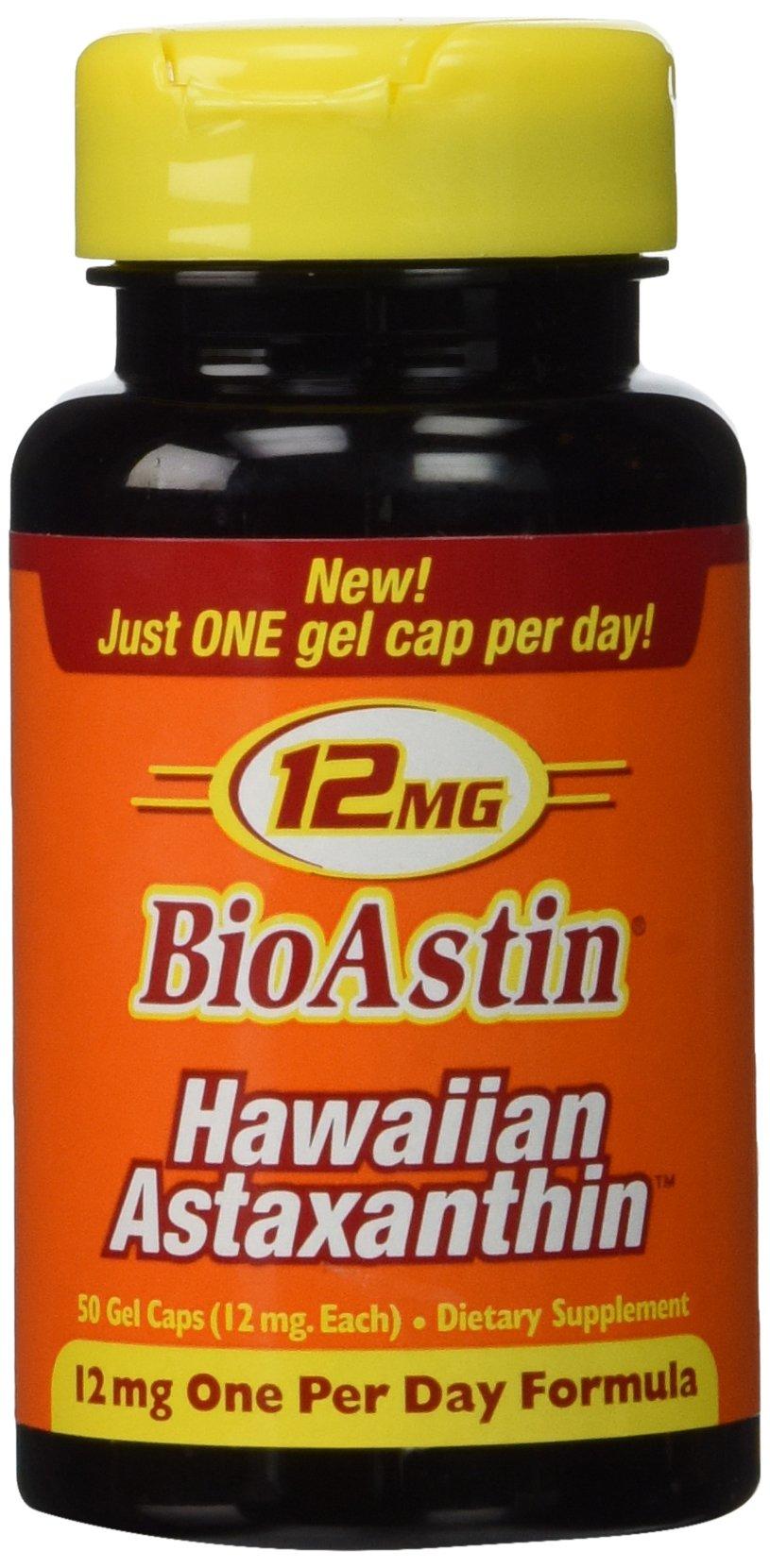 Nutrex Hawaii Bioastin Hawaiin Astaxanthin - 12mg, 200 Gel Caps