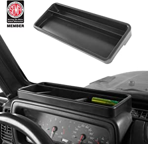 Jeep Wrangler TJ 97-06 Front Dashboard Tray Storage Box Container Organizer