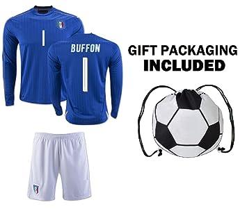 b28be293d89 Fan Kitbag Italy Pirlo  21   Verratti  10   Buffon  1 Soccer Jersey ...