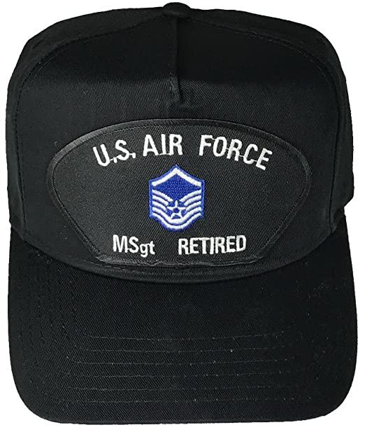 bb548141256 Amazon.com  US AIR FORCE MASTER SERGEANT MSgt RETIRED with INSIGNIA ...