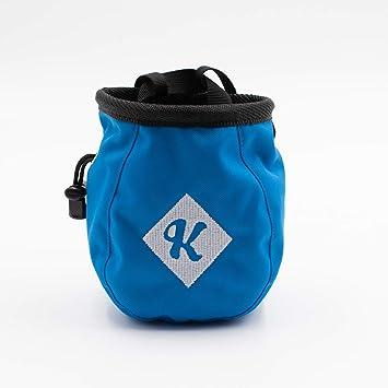 color azul negro negro Bolsa de magnesio con bolsillo y cintur/ón Psychi