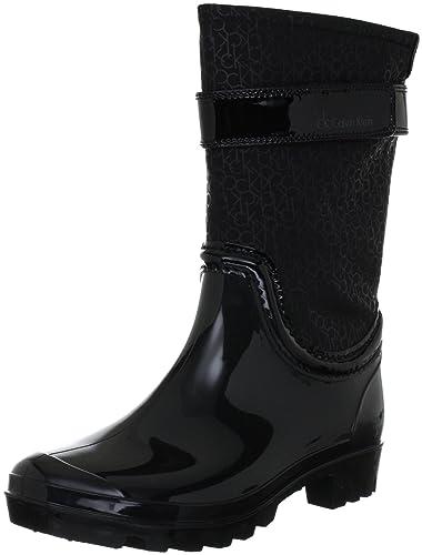 afc1d5a8fa90e5 Calvin Klein Wavery, Bottes de pluie femme: Amazon.fr: Chaussures et ...