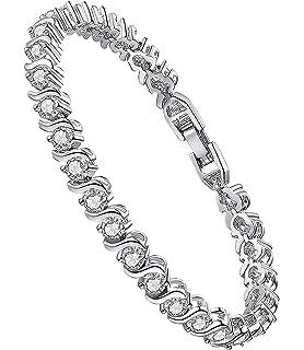"J.Fée ""The Swan's Dream""Rose Gold Bracelet Swarovski Crystal Bracelet Fine Jewellery Gift Packaging"