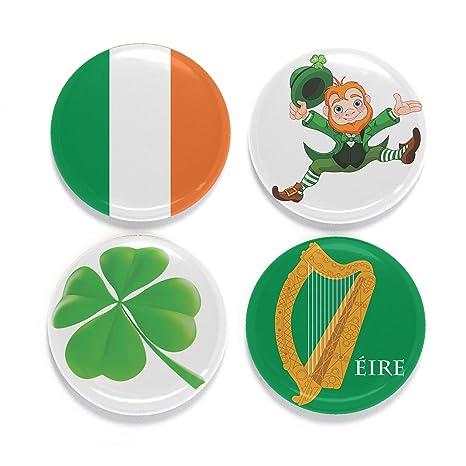 Imanes para nevera - Irlanda - Juego de cuatro: Amazon.es: Hogar