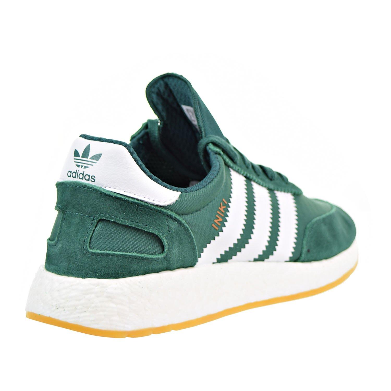 Outlet Femmes Adidas Iniki Runner Boost Vert Blanc By9726