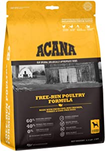 Acana Grain Free Adult Dog Food, High Protein, Made with Real Meat