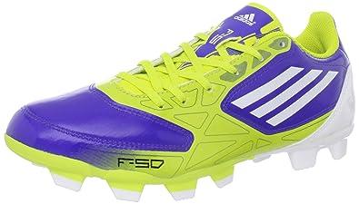 adidas Women's F5 TRX FG Soccer Shoe, Lab Lime/Lab Lime/Lab Lime/Lab Blue 58d535
