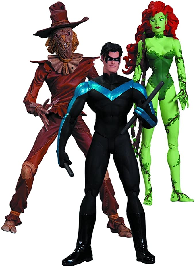 DC Collectibles Hush Scarecrow, Nightwing and Poison Ivy Action ...