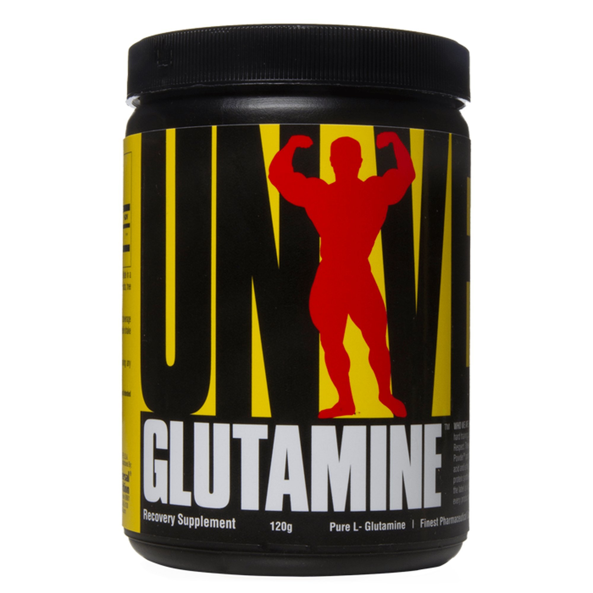 Universal Nutrition Glutamine Powder Supplement - Pure L-Glutamine - Muscle Recovery BCAA - Full 5g of Glutamine per Serving - Pharmaceutical Grade Amino Acid - 120 g by Universal Nutrition
