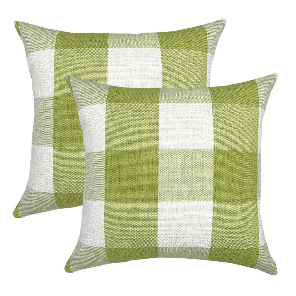 Amazon.com: Topbig - Juego de 2 fundas de almohada, diseño ...