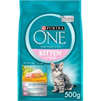 Purina One Kitten with Chicken Cat Food 500g(Pack of 1), 12374946