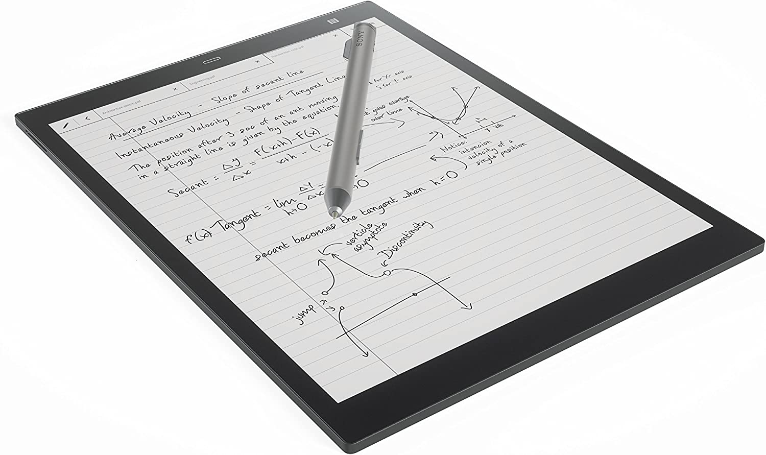 "The Sony DPT-CP1/B 10"" Digital Paper travel product recommended by Emily Klein on Lifney."