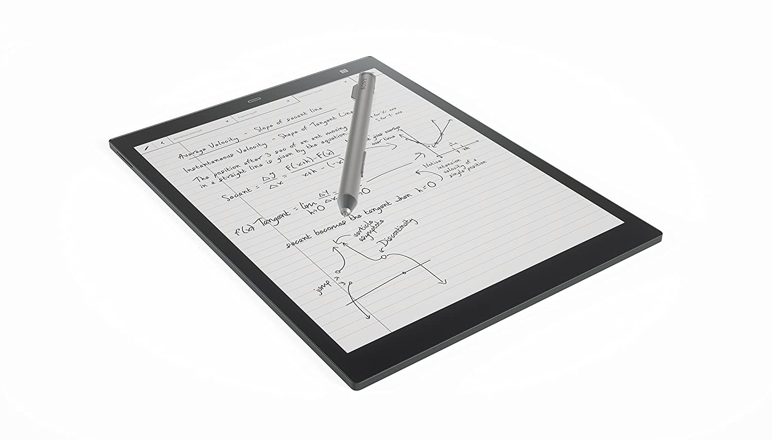 The Sony Digital Paper DPT-CP1 travel product recommended by Emily Klein on Lifney.