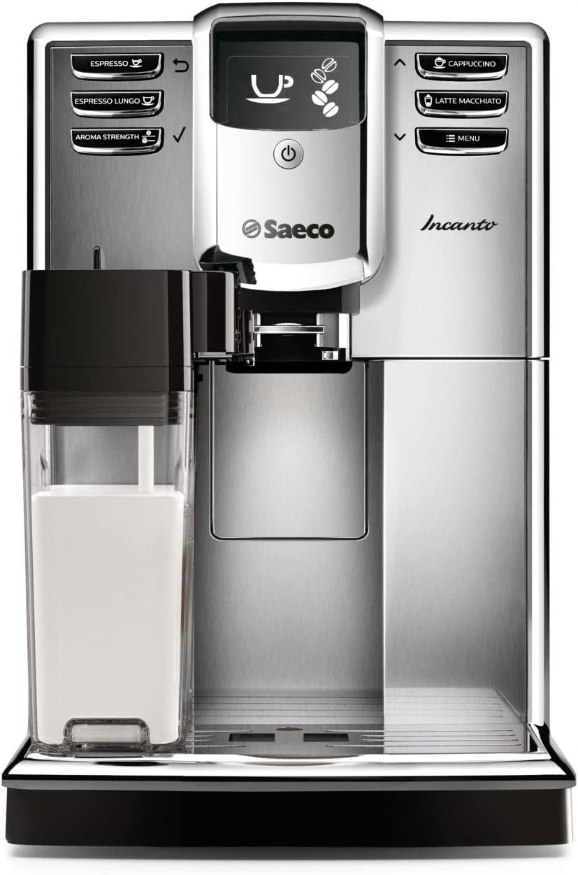 Saeco Incanto Carafe Super Automatic Espresso Machine with AquaClean filter
