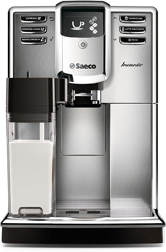 Saeco Incanto Carafe Super Automatic Espresso Machine with AquaClean filter