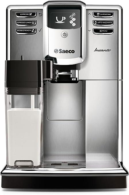 Saeco Incanto HD8917/48 Máquina de espresso súper automática con filtro AquaClean, acero…