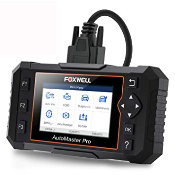 FOXWELL NT624 Elite Automotive OBD2 Scanner Full-Systems Car Code Reader  Diagnostic Scan Tool with Oil Light Reset and EPB Service Functions (Latest