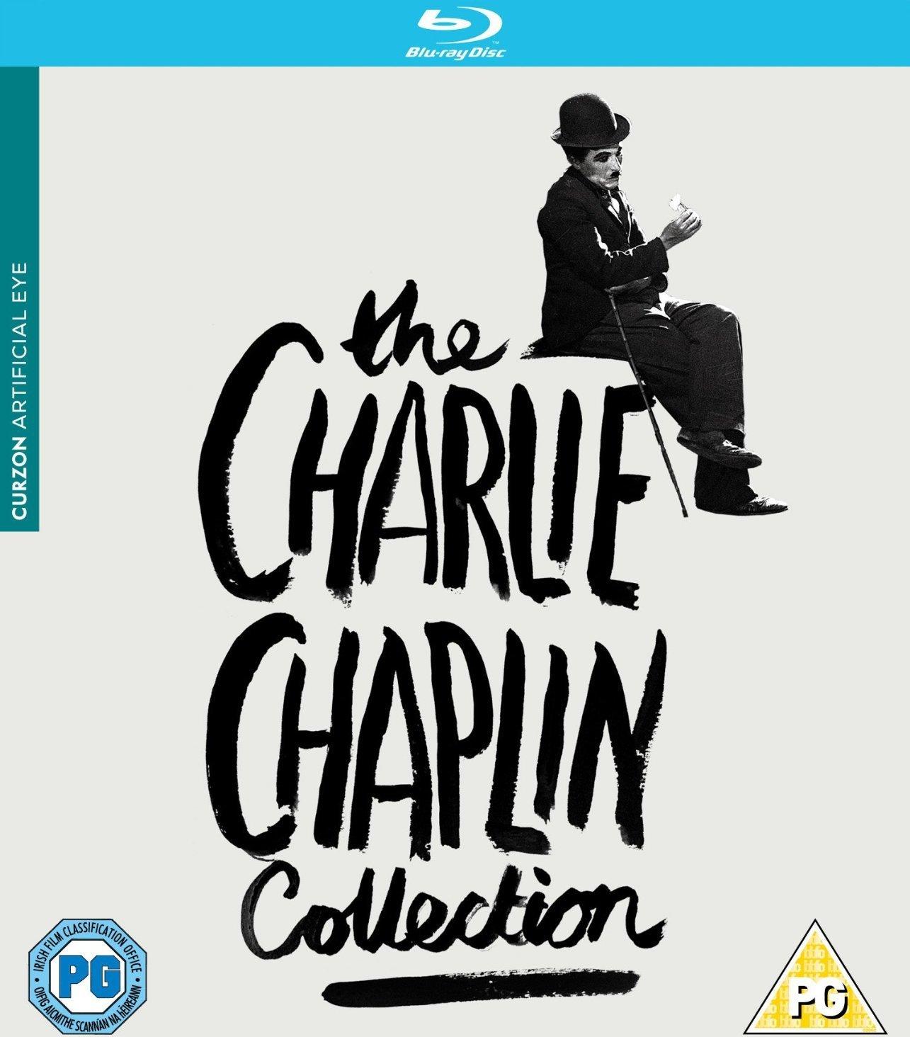 The Charlie Chaplin Collection UK Artificial Eye Blu-ray box set