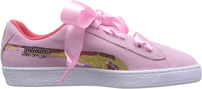 Puma Mädchen Suede Heart Trailblazer Sqn Jr Sneaker: Amazon