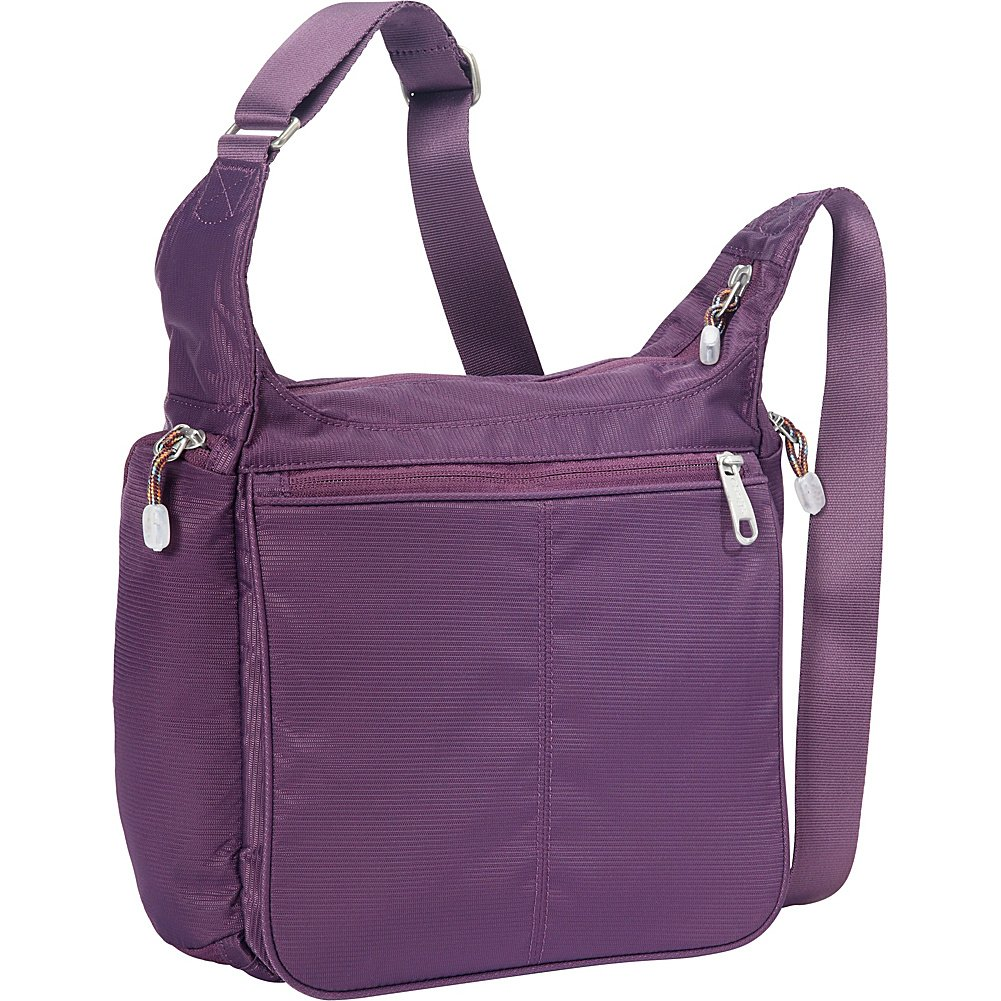eBags Piazza Daybag 2.0 with RFID Security (Aubergine)