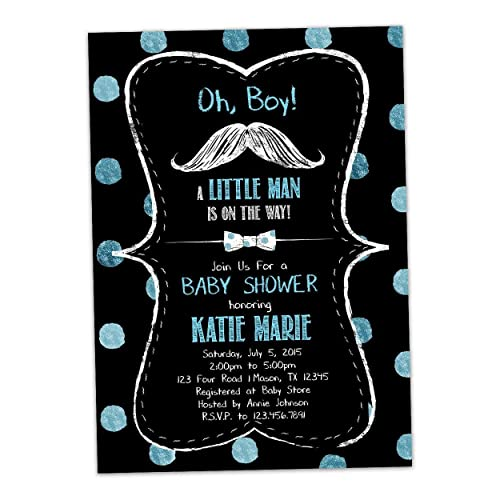 idea mustache baby shower invitation and 98 oh boy mustache baby shower invitations