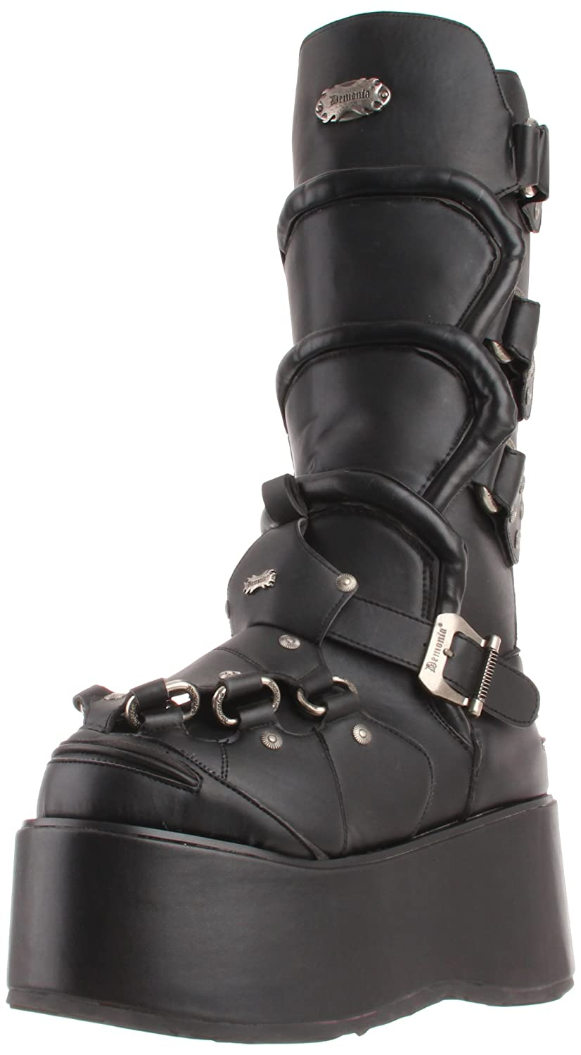 Pleaser Men's Wicked-732 Boot B003HVJIAM 8 D(M) US|Black Polyurethane