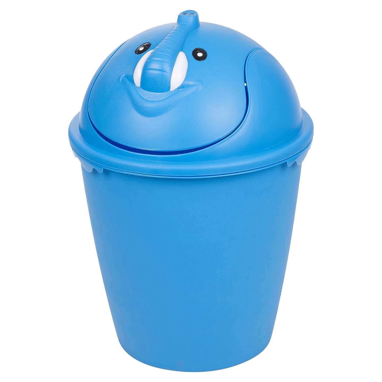 6 Litre Animal Dustbin Plastic Trash Bin - Ideal for Kids Bedroom ...
